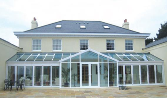 Large LeanTo Conservatory