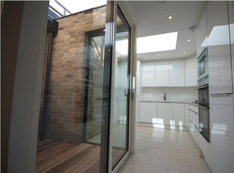 courtyard sliding door