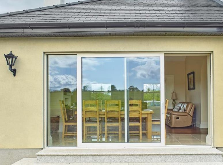 large patio door