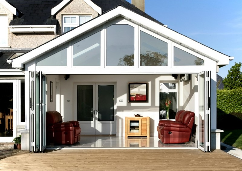 pvc folding doors / bifold upvc doors